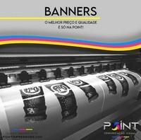 Banner impressão digital