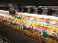 Impressão digital adesivo